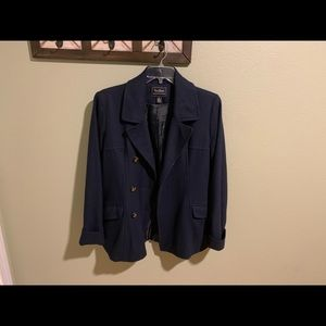 Steve and Barry's wool blend jacket size L